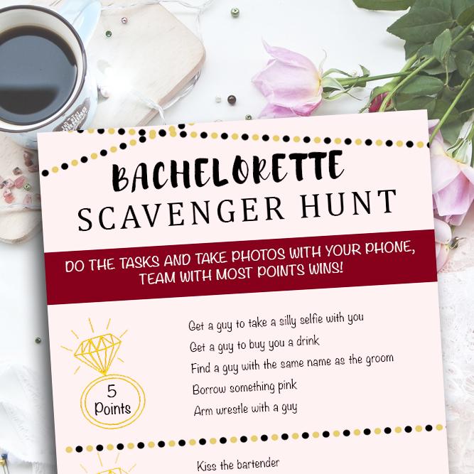 Bachelorette Scavenger Hunt Ola Memoirs