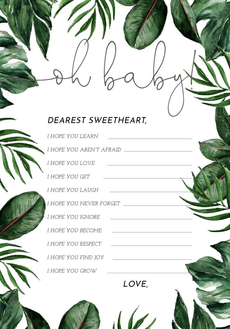 Jungle Dearest Baby