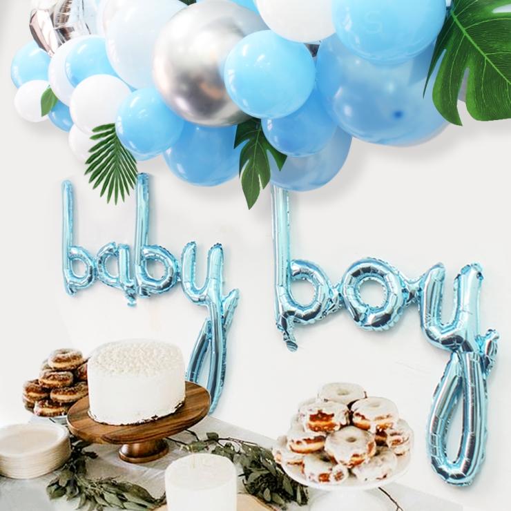Baby Boy Decor Party Supplies CENTERPIECES
