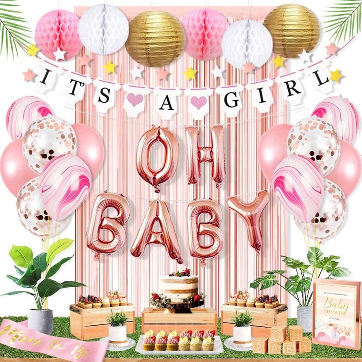 Baby Shower Decorations for Girl Amazon Ola Memoirs