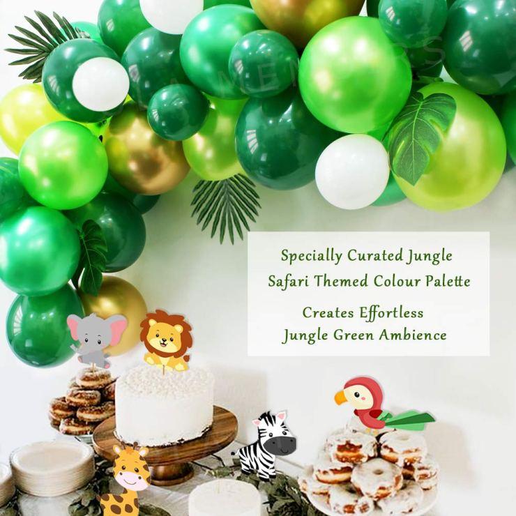 Safari Baby Shower Decorations Garland Ola Memoirs Amazon