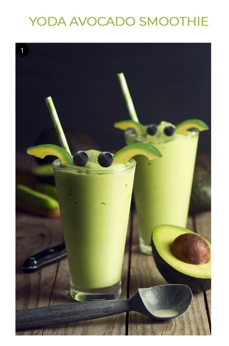 Avocado Smoothie Yoda