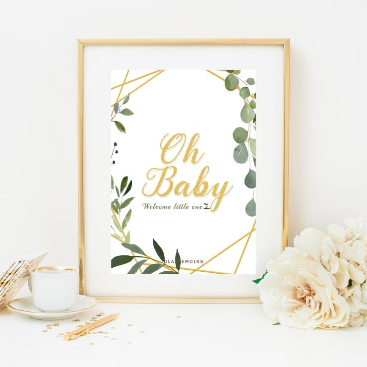 Greenery Baby Shower Ideas Amazon