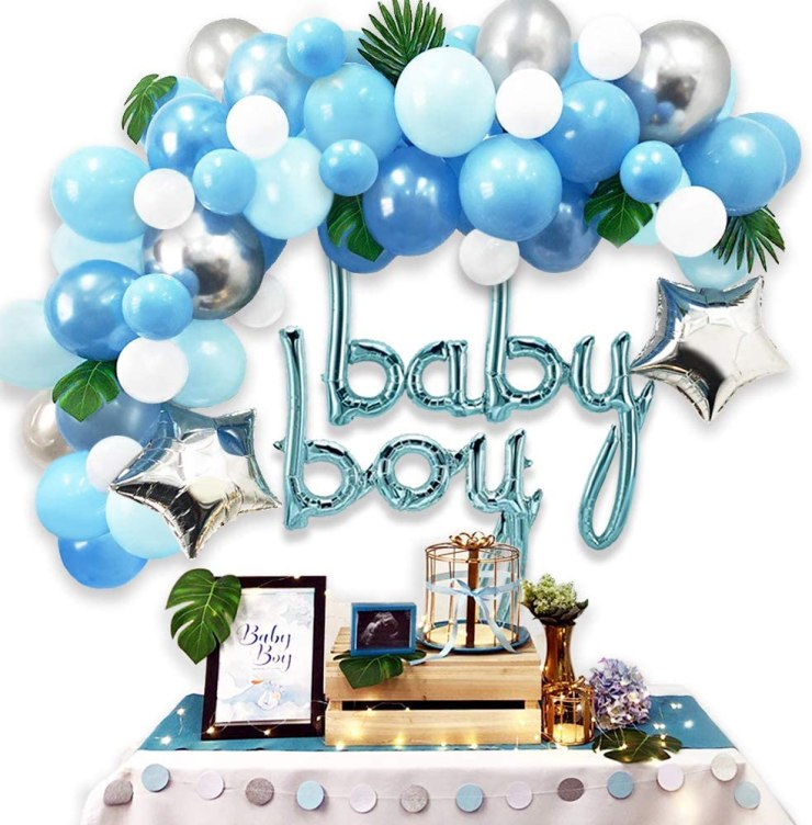 Amazon Baby Shower decorations for boy