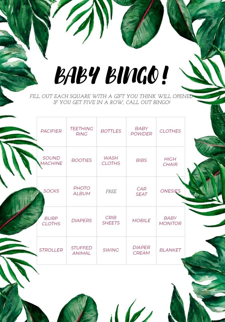 Baby Bingo Safari